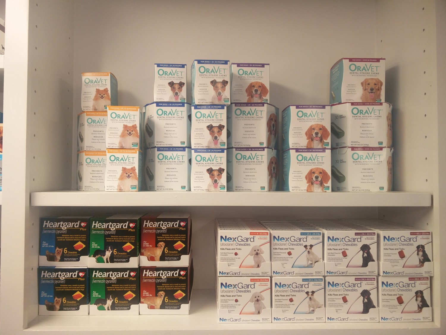 Swift Creek Animal Hospital - Raleigh, NC - We offer Heartgard Plus, NexGard and Oravet Chews