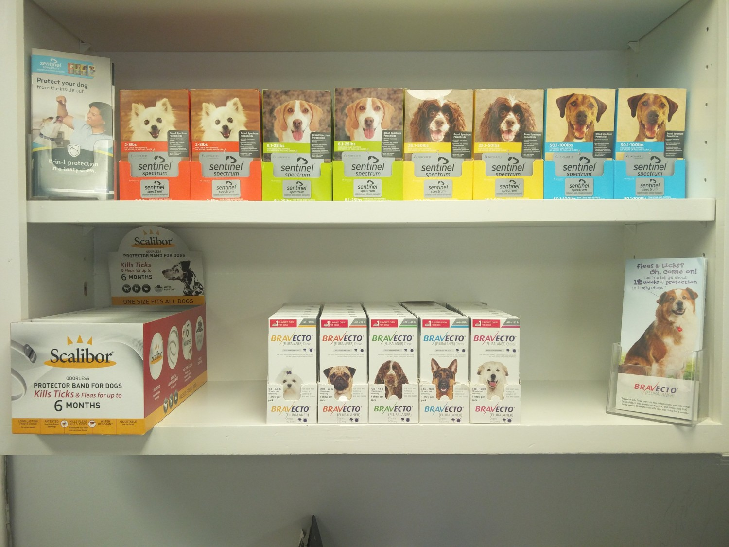 Swift Creek Animal Hospital - Raleigh, NC - We offer Scalibor Collar, Bravecto, and Sentinel Spectrum Chewables