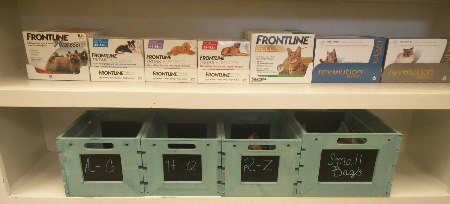 Swift Creek Animal Hospital - Raleigh, NC - We offer Frontline Plus, Frontline Tritak, Frontline Gold, and Revolution.